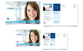 Dentistry & Dental Office - Postcard Template
