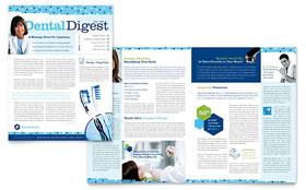 Dentistry & Dental Office - Newsletter Sample Template