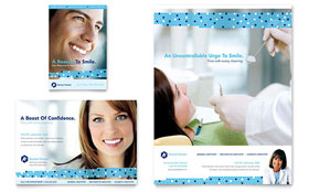 Dentistry & Dental Office - Flyer & Ad Template Design Sample
