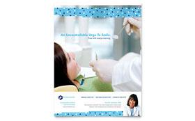 Dentistry & Dental Office - Flyer Template