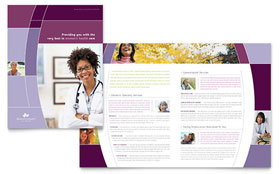 Women's Health Clinic - Brochure Template