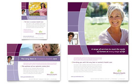 Women's Health Clinic - Flyer & Ad Template