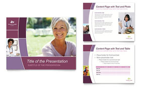 Women's Health Clinic - PowerPoint Presentation Sample Template