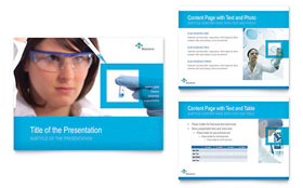 Science & Chemistry - PowerPoint Presentation Template Design Sample