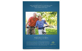 Senior Living Community - Flyer
