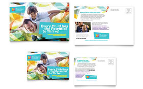 Adolescent Counseling - Postcard Template