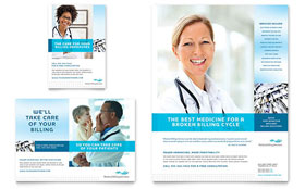 Medical Billing & Coding - Flyer & Ad Template Design Sample