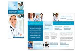 Medical Billing & Coding - Tri Fold Brochure Template