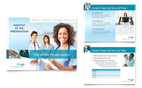 Medical Billing & Coding - PowerPoint Presentation Template Design Sample