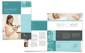 Pregnancy Clinic - Microsoft Word Brochure Template