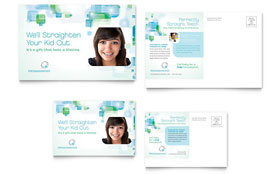 Orthodontist - Postcard Template