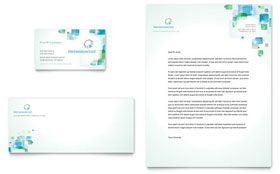 Orthodontist - Business Card & Letterhead Template Design Sample