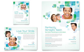 Orthodontist - Flyer & Ad Template Design Sample