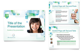 Orthodontist - PowerPoint Presentation Template Design Sample