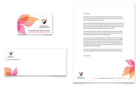 Marriage Counseling - Business Card & Letterhead Template Design Sample