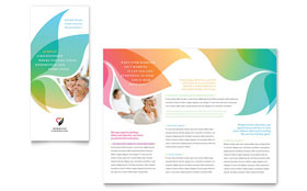 Marriage Counseling - Tri Fold Brochure Template Design Sample