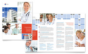 Hospital - Adobe InDesign Brochure Template