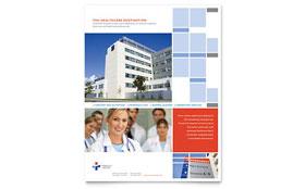 Hospital - Leaflet Sample Template