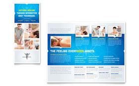 Reflexology & Massage - Brochure Template