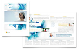 Behavioral Counseling - Brochure - Adobe Illustrator Template Design Sample