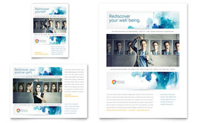 Behavioral Counseling - Print Ad Template Design Sample