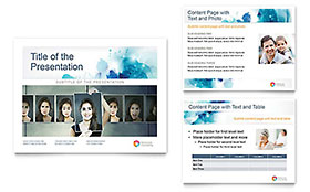Behavioral Counseling - Microsoft PowerPoint Template