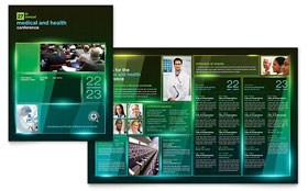 Medical Conference - Apple iWork Pages Brochure
