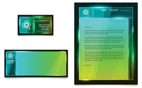 Medical Conference - Business Card & Letterhead
