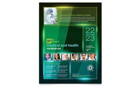 Medical Conference - Leaflet Template