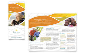 Assisted Living - Tri Fold Brochure Template