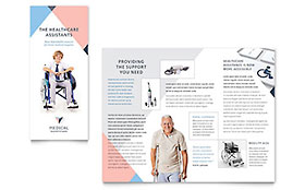 Home Medical Equipment - Microsoft Word Brochure Template