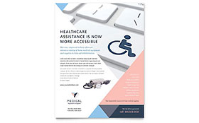 Home Medical Equipment Flyer