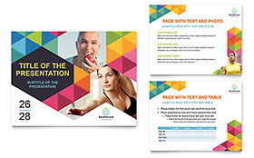 Health Fair - PowerPoint Presentation Sample Template