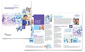 Cancer Treatment - Brochure Template
