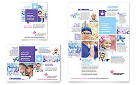 Cancer Treatment - Print Ad Template