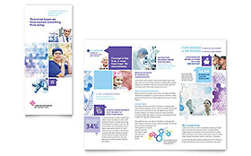 Cancer Treatment Tri Fold Brochure