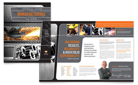 Manufacturing Engineering - Microsoft Word Brochure Template