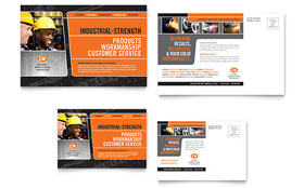 Manufacturing Engineering - Postcard Sample Template