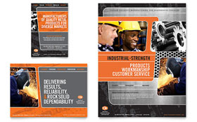 Manufacturing Engineering - Leaflet Sample Template