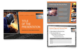 Manufacturing Engineering - PowerPoint Presentation Sample Template