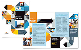 Logistics & Warehousing - Brochure Template
