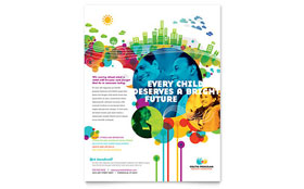 Youth Program - Leaflet Sample Template