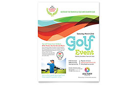 Charity Golf Event - Flyer Template