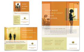 HR Consulting - Flyer & Ad Template