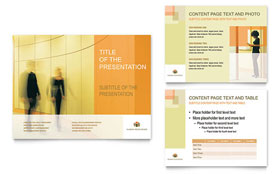 HR Consulting - PowerPoint Presentation Template Design Sample