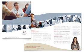 Marketing Consulting Group - Microsoft Word Brochure Template