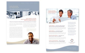 Marketing Consulting Group - Datasheet Sample Template