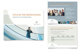 Business Consulting - PowerPoint Presentation Template Design Sample
