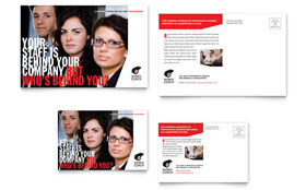 Business Executive Coach - Postcard Template