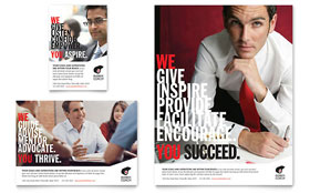 Business Executive Coach - Flyer & Ad Template Design Sample